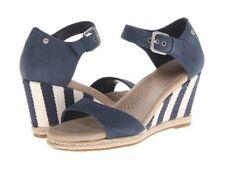 New  UGG Atasha Stripe Women's Wedge Shoes Sz 8 US,39 EU