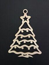 Weihnachtsbaum Tanne Holz  Bastelmaterial Bastelholz Basteln Malen dekorieren