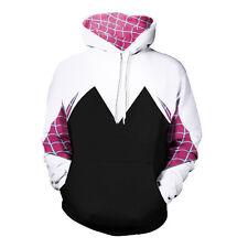 Spider Gwen Stacy Juniors costume Hoodie Women Long sleeve Sweatshirt Cosplay