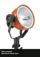 FARO FLOOD 800W FORCELLA COSMOLIGHT ALOGENO NERO CON LAMPADA DXX 64571 PARALUCE