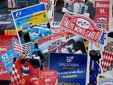 Stickers Formula 1 Rallye MONACO Grand Prix F1 Monte Carlo Formule 1 autocollant