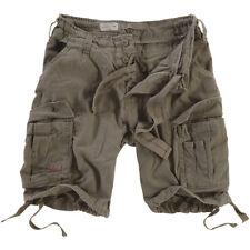 SURPLUS Bermuda Pantaloncini uomo militare AIRBORNE VINTAGE SHORTS Olive Size S