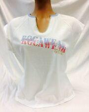 Women's Fashion Rocawear White/Lt.Blue Tee Shirt