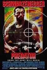 Predator (1987) Poster | 5 Sizes | Arnold Schwarzenegger Arnie DVD BluRay