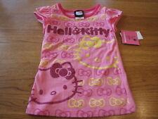 Girls Hello Kitty shirt HK53071 Doll  Pink DLP 5 NWT^^