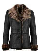 Ladies Toscana Sheepskin Jacket Montana Natural Real Leather Winter Jacket SC396
