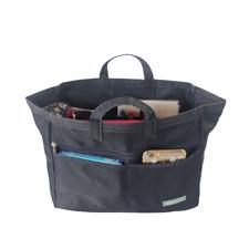 Myliora Premium XXL, 2 modelos en 1 bolsa bolsa organizador monedero Inserto Negro/Azul