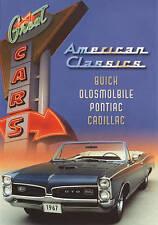 Great Cars: Buick, Oldsmobile, Pontiac, Cadillac (DVD, 2009) AMERICAN CLASSICS -