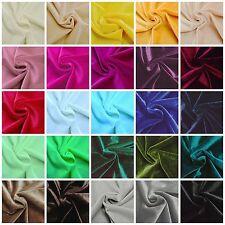 Stretch Samt Stoffe Glänzend Bi-Elastisch Dekostoff Bekleidung Kostüm Stoff