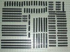 LEGO Technic 100 x NERO GEAR asse & PIN SET-molte diverse dimensioni