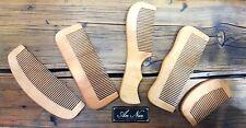 Barba/Capelli Pettine in legno. naturale legno di ciliegio