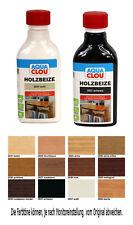 Clou Holzbeize 0,25L Wasserbeize Beize Möbelbeize Tischlerbeize Holzfarbe innen