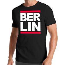 Ejecutar camiseta de Berlín | Capital | Alemania | Aeropuerto | Diversión | DMC | Salto de la cadera