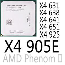 AMD Phenom II X4 631 X4 638 X4 641 X4 651 X4 905E X4 925 AMD CPU Processor
