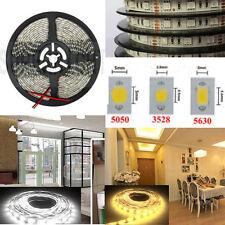 5M 5050/ 3528/ 5630 SMD 300/ 600 Leds Cool/Warm White LED Strip Light Waterproof