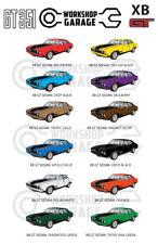 Ford XB GT 351 V8 - SEDAN - Sticker