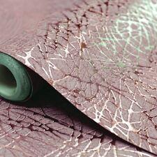 Luxury Foil SWIRL Metallic Textured Vinyl ROSE GOLD Wallpaper 294101 Arthouse