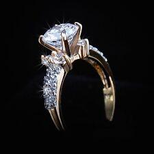 925 Silber Design-Ring*Verlobungsring*Ehering*Cubic Zirconia*Swarovski-Elements*