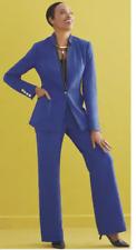 Ashro Royal Blue Quinn Ponte Jacket Skirt Pant 8 10 12 16W 18W 20W 22W 24W 26W