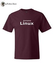 Uname Linux computer geek Tee Linux Admin  T-shirts S-5XL