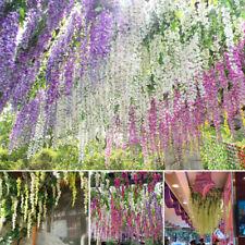 UK Colorful Artificial Flower Vine Garland Wedding/Garden Party Bunch Decoration