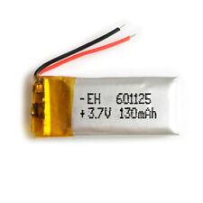 Battery 601125 Lipo 3.7v 130mah 1S for Phone Portable Video mp3 mp4 Light LED