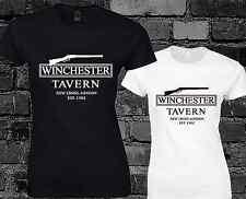 Winchester Tavern Ladies T Shirt Shaun Of The Dead Inspired Movie Film Fashion