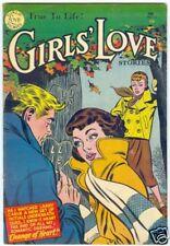 Girls Love Stories #33 Dc February 1955