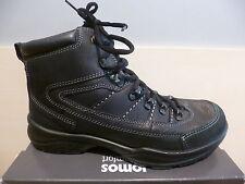 Jomos señores botas botín botas de invierno de cuero negro SympaTex 457801neu!