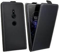 Flip Case Tasche Sony Xperia Handy Hülle Cover PU Leder Schutzhülle Etui