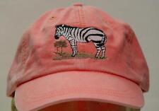ZEBRA WILDLIFE HAT WOMEN MEN EMBROIDERED BASEBALL CAP Price Embroidery Apparel