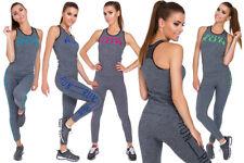 Deportes para Dama Receptor & Leggings Cómodo Mujer Activewear TALLAS CH-EEG