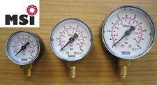 Manometer Druckluft senkrecht  Durchmesser 40  63 0-10 bar Druckmesser ab 6,99 €