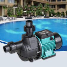 220V Booster Self-priming Sucking Circulating Filter Pump Swimming Pool Fishpond