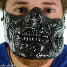 Mascarilla Halloween Disfraz Disfraces Despedida industrias Poizen Zombie Máscara Negra