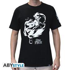 One Piece T-Shirt - Portgas D. Ace (schwarz)