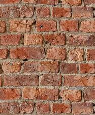 Arthouse 3D Effect Urban Brick Red Wallpaper - 696600