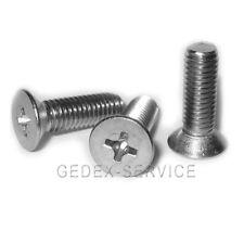 Senkschrau ben cruz din 965 selección: m4 x longitudes de 6 a 70 mm de acero inoxidable a2