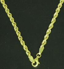 Luxus Damen Kordel Kette Halskette echtes 585 Gold 14 Kt. Neu 50 cm.