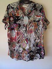 Peter Alexander Maternity Paisley   Maternity Shirt Size XS, S, M