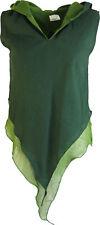 Feen Elfen Zipfel Top MA - dunkelgrün