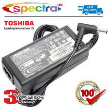 Genuino Original Toshiba Portege Z830 Portátil Fuente De Alimentación AC Adaptador Cargador Para