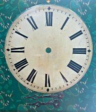 Round Antique Roman Numeral Metal Clock Dial - 2 Sizes (NEW)