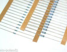 Resistors Metal Film 1% 0.4W, 0.6W Various Values: 100R 470K etc. [QTY=100pcs]