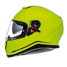 MT Thunder 3 SV Solid Full Face DVS Motorbike Motorcycle Helmet Sharp 4* Yellow