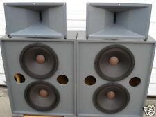 ALTEC LANSING SPEAKER SYSTEM 299-8A MRII 594A 8256 3156 A6A MRII594A PAIR