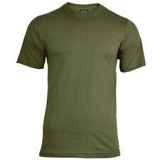 Mil-Tec Homme US Armée T-Shirt Militaire 100% Coton Vert Olive S – 4XL