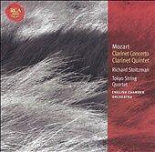 Mozart: Clarinet Concerto; Clarinet Quintet CD Stoltzman Tokyo String Quartet