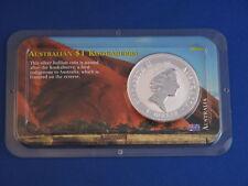 1993 Australia $1 Kookaburra BU 1 Oz .999 Silver B4817