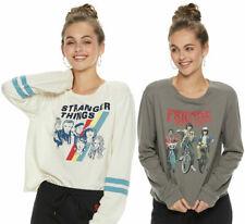 Stranger Things Long Sleeve T-Shirt Netflix - Juniors XS S M L XL - New w/Tags!